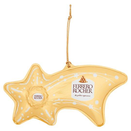 Ferrero Rocher Figurka z mlecznej czekolady z kruszonymi orzechami laskowymi 45 g