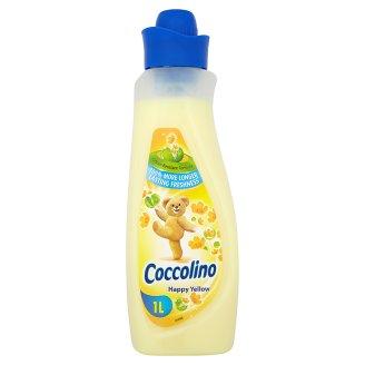 Coccolino Happy Yellow Płyn do płukania tkanin koncentrat 1 l