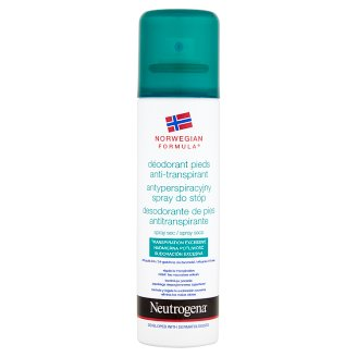 NEUTROGENA Antiperspirant Foot Care Spray 150 ml