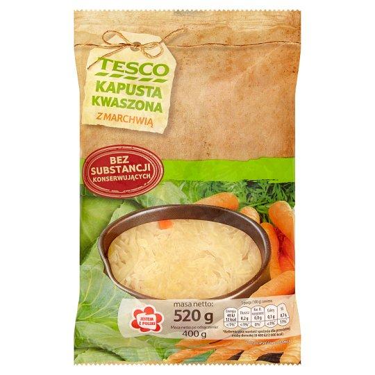 Tesco Sauerkraut with Carrot 520 g