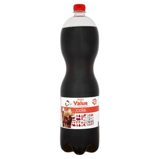 Tesco Value Cola Napój gazowany 2 l