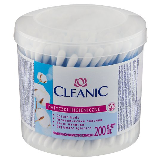 Cleanic Cotton Buds 200 Pieces