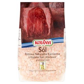 Kotányi Sól różowa naturalna kamienna z Kopalni Soli Kłodawa gruboziarnista 900 g