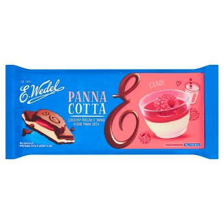 E. Wedel Milk Chocolate with Panna Cotta Filling 287 g