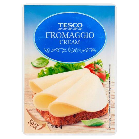 Tesco Fromaggio Serek śmietankowy w plastrach 100 g