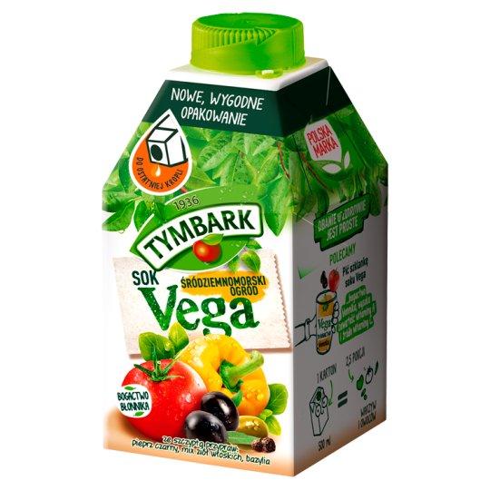 Tymbark Vega Sok z warzyw i owoców Śródziemnomorski ogród 500 ml