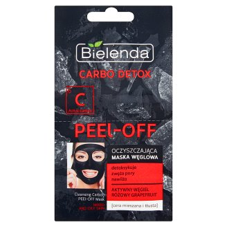 Bielenda Carbo Detox Cleansing Carbon Mask Mixed and Oily Skin 2 x 6 g