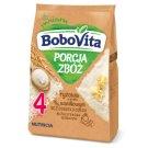 BoboVita Porcja zbóż Kaszka ryżowa o smaku waniliowym po 4 miesiącu 170 g