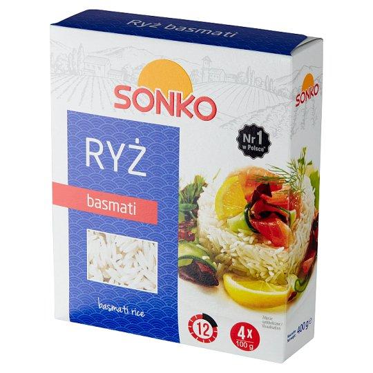 Risana Ryż basmati 400 g (4 torebki)