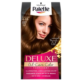 Palette Deluxe Oil-Care Color Hair Colorant Dazzling Brown 760