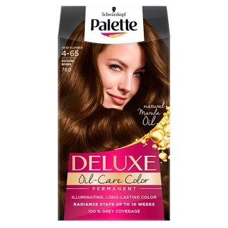 Palette Deluxe Oil-Care Color Farba do włosów Olśniewający brąz 760