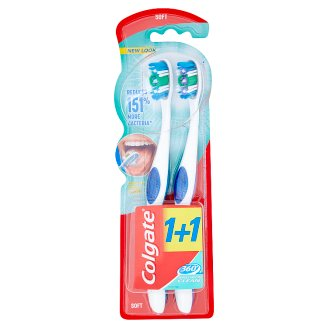 Colgate 360° Soft Toothbrush 2 Pieces