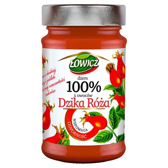 Łowicz Wild Rose 100% Fruits Jam 235 g