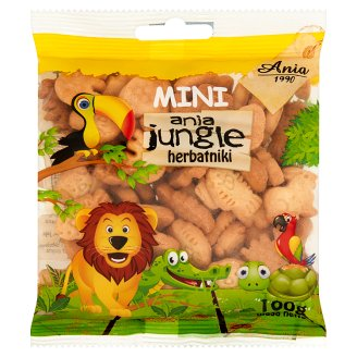 Ania Mini Ania Jungle Biscuits 100 g