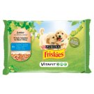 Friskies Vitafit Junior with Chicken and Carrot in Sauce Complete Food for Puppies 4 x 100 g