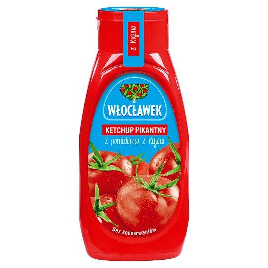 Włocławek Hot Ketchup 480 g
