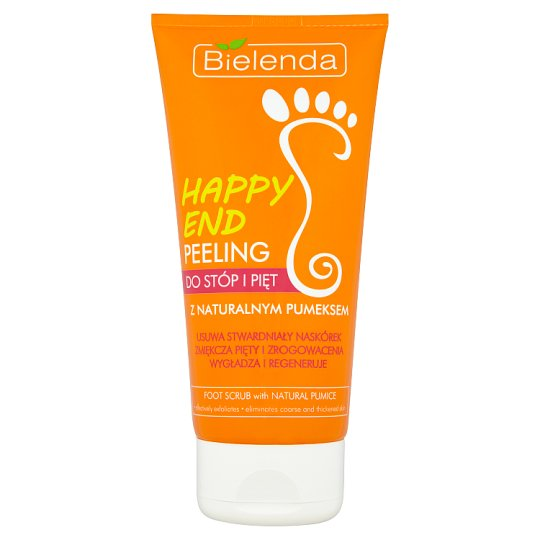 Bielenda Happy End Foot Scrub with Natural Pumice 125 g