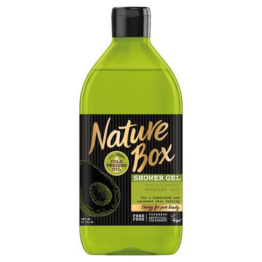 Nature Box Żel pod prysznic z olejem z awokado 385 ml