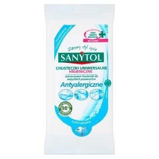 Sanytol Chusteczki higieniczne uniwersalne antyalergiczne 48 sztuk