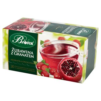 Bifix Premium Cranberry and Pomegranate Fruit Tea 40 g (20 Sachets)