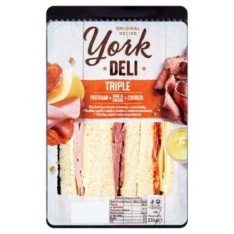 York Deli Sandwich Triple 235 g
