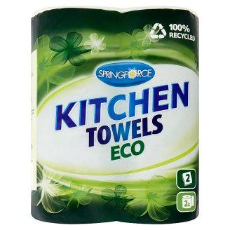 Springforce Eco Kitchen Towels 2 Rolls
