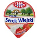 Mlekovita Wiejski Polish Strawberry Granular Curd Cheese 150 g