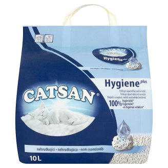 Catsan Hygiene plus Żwirek dla kota 10 l