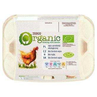 Tesco Organic Eggs 6 Pieces