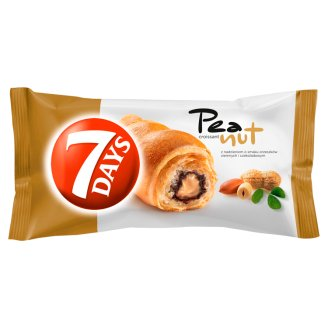 7 Days Croissant z nadzieniem z orzeszków ziemnych i kakaowym 60 g