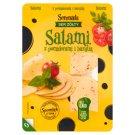 Serenada Ser żółty Salami z pomidorami i bazylią 135 g