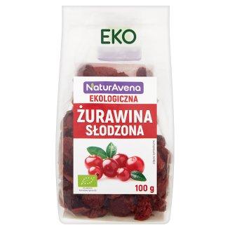 NaturAvena Ekologiczna żurawina słodzona 100 g