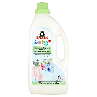 Frosch Baby Washing Clothes for Babies and Children Concentrate 1.5 L (21 Washes)