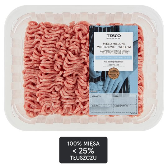 Tesco Beef and Pork Mince Meat 500 g