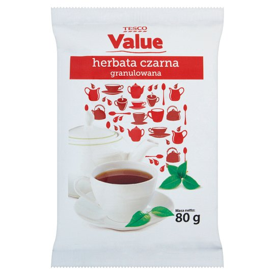 Tesco Value Granulated Black Tea 80 g