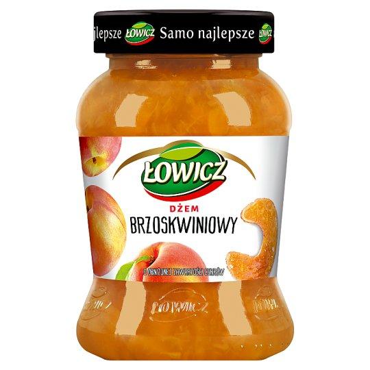 Łowicz Peach Low Sugar Jam 450 g