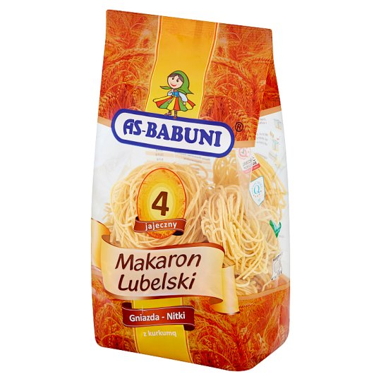 As-Babuni Nest-Thread with Turmeric 4 Egg Lubelski Pasta 400 g