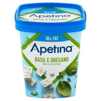 Apetina Light Basil and Oregano Mediterranean Style White Cheese 200 g