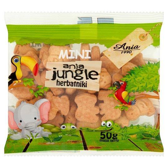 Ania Mini Ania Jungle Biscuits 50 g