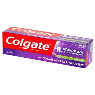 Colgate Maximum Cavity Protection Fresh Mint Pasta z zawartością fluoru i wapnia 75 ml