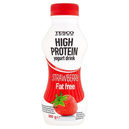 Tesco Strawberry Flavoured High Protein Yogurt Drink 300 g