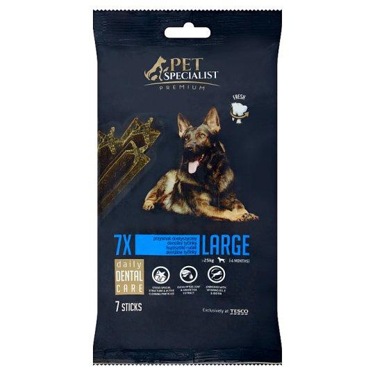Tesco Pet Specialist Premium Karma dla dorosłych psów przysmak dentystyczny duży 270 g (7 sztuk)