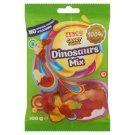 Tesco Candy Carnival Dinosaurs Mix Żelki o smaku owocowym 100 g