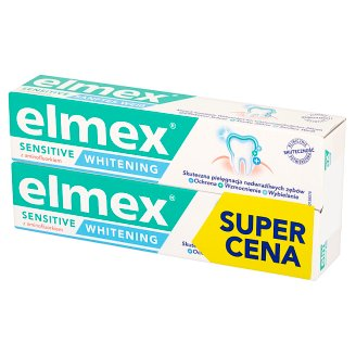 Elmex Sensitive Whitening Pasta do zębów 2 x 75 ml