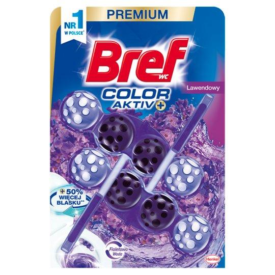 Bref Color Aktiv Lavender Toilet Rim Block 2 x 50 g