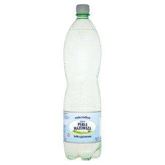 Tesco Perła Mazowsza Woda źródlana lekko gazowana 1,5 l