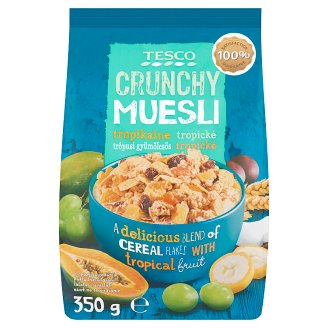 Tesco Crunchy Tropical Muesli 350 g