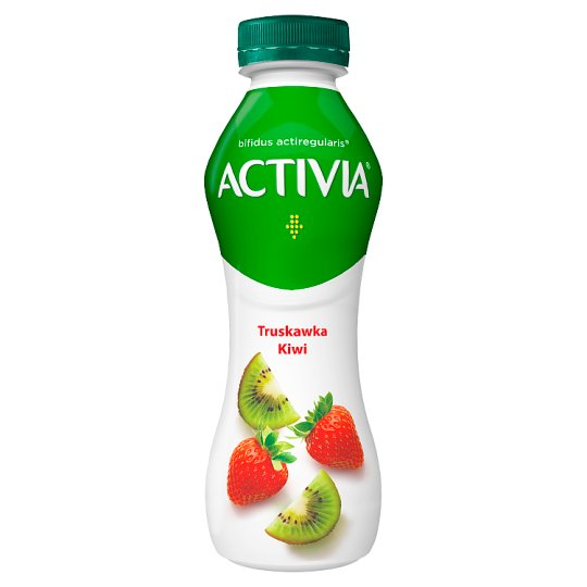 Danone Activia Strawberry and Kiwi Yoghurt 300 g