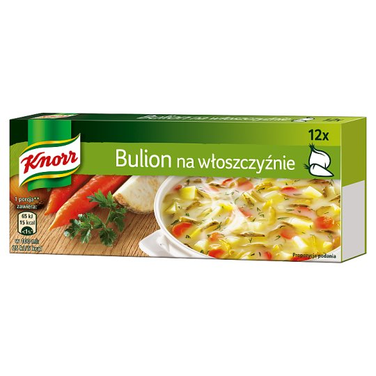 Knorr Vegetables Bouillon 120 g (12 Cubes)