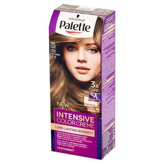 Palette Intensive Color Creme Hair Colorant Medium Blonde N6